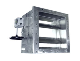 Ultra Low Leakage Isolation Damper
